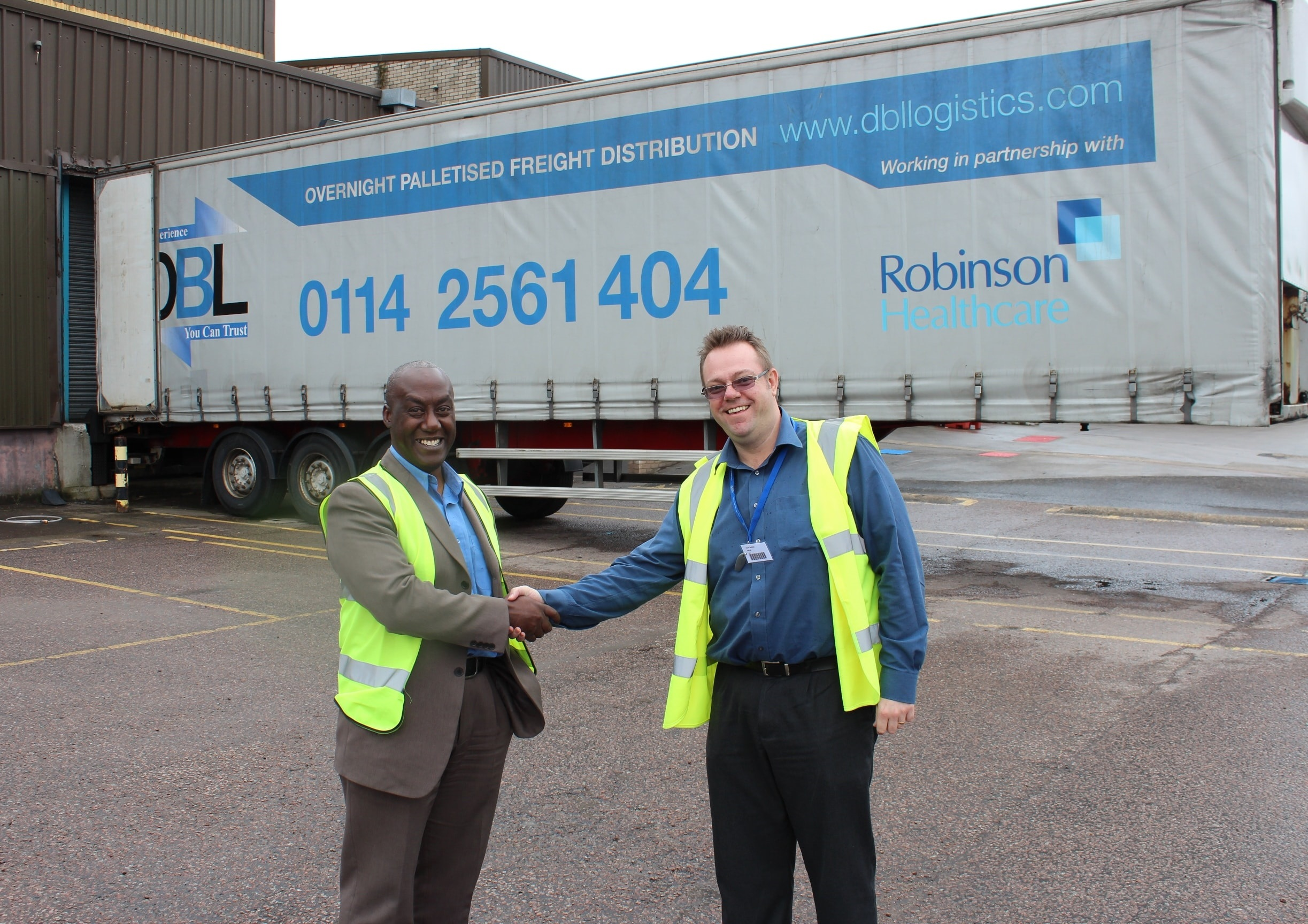 Robinson Healthcare distribution contract